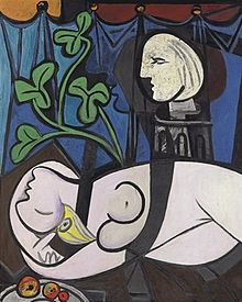 Picasso Nude, Green Leaves and Bust